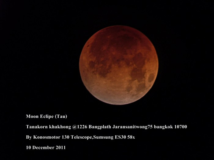 Moon Eclipse (Tau)